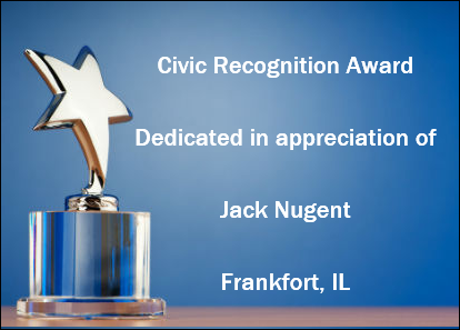 Flood Brothers Jack Nugent Receives Civic Recognition Award
