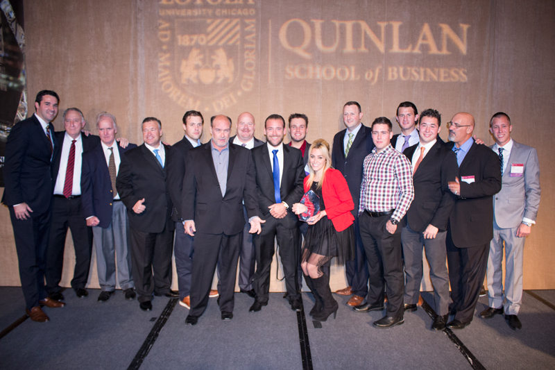 Flood Brothers Honored by Loyola's Quinlan School of Business