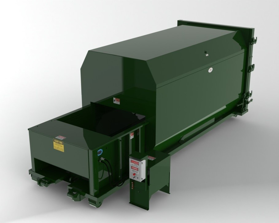 Flood Brothers Self Contained Compactor
