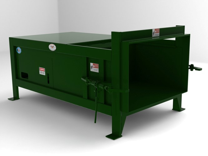 Flood Brothers Stationary Compactor